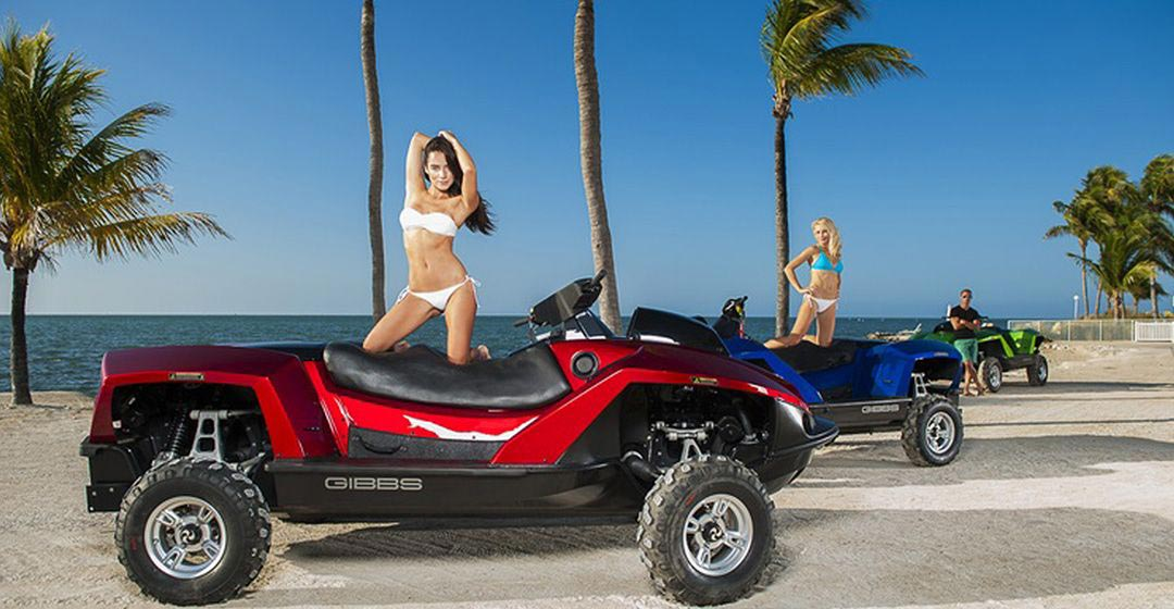 QuadSkifr  Gibbs Sports Amphibians in The Caribbean and France